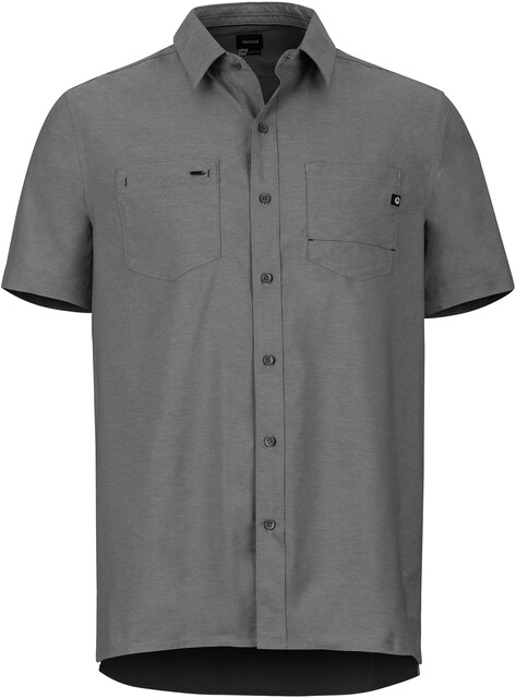Marmot Innesdale Chemise manches courtes Homme, steel onyx